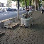 Încă un trotuar salvat în Chișinău