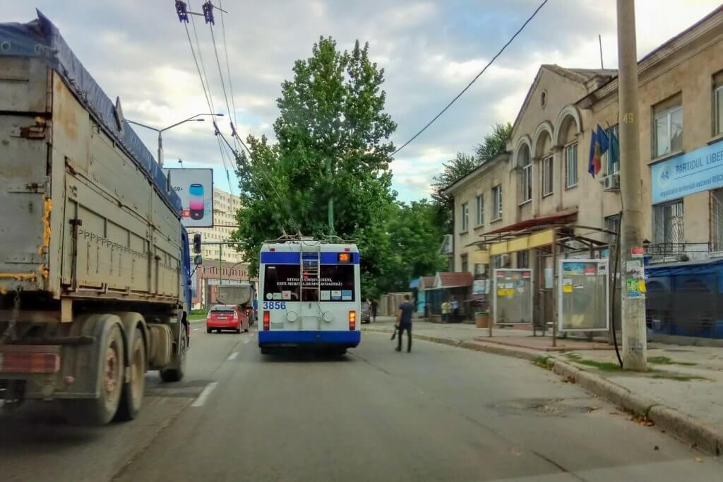 stație pe str. Orheiului, Chișinău