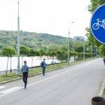Nu mai faceți piste pentru bicicliști în parcuri!