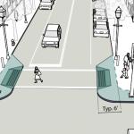 9 motive pentru a extinde trotuarele în intersecții