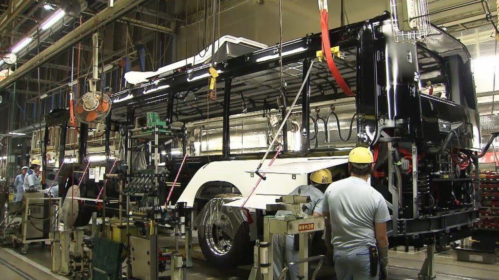 asamblarea autobuzelor